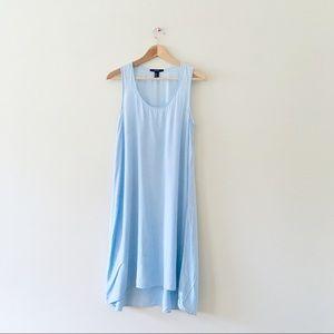 F21 Forever 21 midi dress light blue a-Line small